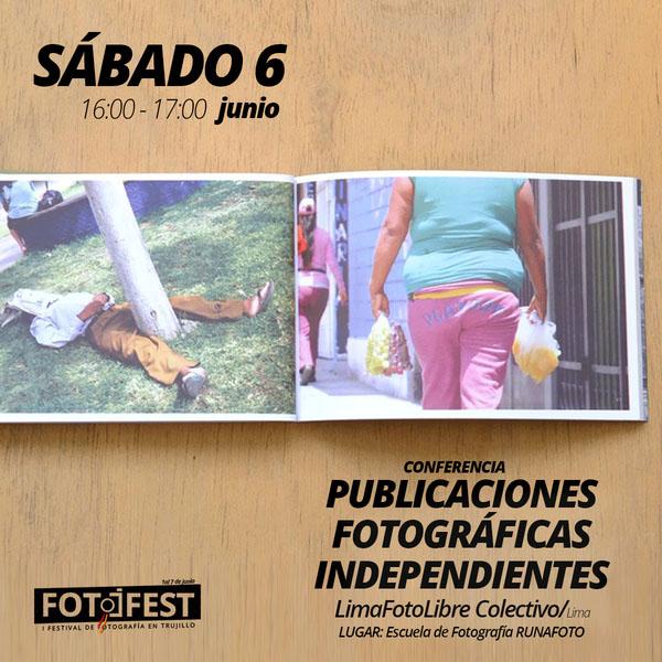 Conferencia Publicaciones Fotofest Trujillo